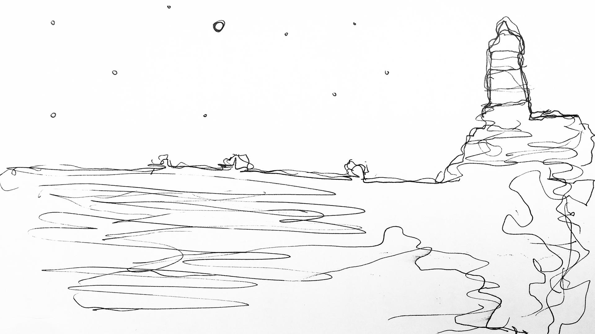 Nunca hubiera - Sea sketch
